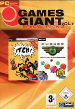 Itch & Pusher - Classic PC Puzzle Games - Brand New