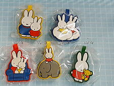 Miffy 2D Figure Label 5pcs - Koro Koro , h#6ok