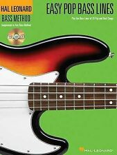 Easy Pop Bass Lines: Play the Bass Lines of 20 Pop and Rock Songs (Bass Method)