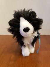 Retired American Girl Dog Pet Rembrandt Border Collie Black & White Saige's Dog