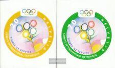 Suisse ioc1-IOC2 (complète edition) neuf avec gomme originale 2000 olympe. Été