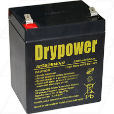 12V 5Ah Replacement Battery Compatible with APC RBC140 (16 battery required)