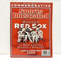 Boston Red Sox Sports Illustrated 2004 World Series Commemorative Edition