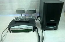 Bose 321 GS Series II Home Theater System Speakers Great Sound