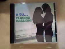 BAGLIONI CLAUDIO - E TU... (EDIZIONE MONDADORI). CD.