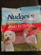 Nudges Steak Jerky Dog Treats 16 Oz 014134