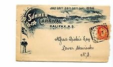 Summer Carnival Halifax squared Circle Small Queen Canada cover 1896