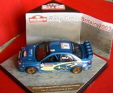 SUBARU IMPREZA WRC 03 #8 RALLYE GREAT BRITAIN 2003 MAKINEN LINDSTROM VITESSE