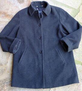 Top erhaltener Mantel Wintermantel von Clarina Collection Wool & Cashmere Gr. 40