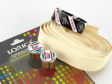 3ttt handlebar tape LORICA Cream White Synthetic Leather vintage Bike  3T NOS