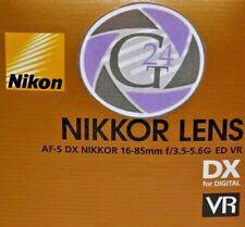 Lente Nikon DX AF-S 16-85mm f/3.5-5.6g ed VR - 12 meses de garantía!