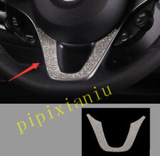 Silver Steering Wheel Lip Cover Panel Frame Trim For Smart EQ Fortwo 2016-2019
