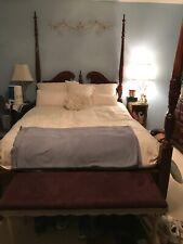 Queen Anne Cherry 4 Piece Bedroom Suit By Lane Virginia