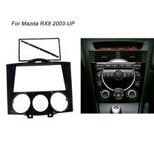 2Din Car Radio Stereo Fascia Dash Panel Bezel Trim kit Frame for Mazda RX8 2003+