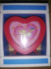 Sveglia peppa pig originale cuore rosa piccola