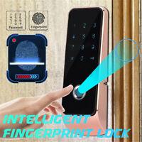 Electronic Smart Digital Keyless Door Lock Security Entry Code Fingerprint