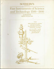 Sothebys Science Technology Medical Microscope Telescope Dial Wheatstone Catalog