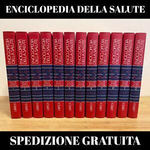 ENCICLOPEDIA DELLA SALUTE SENZA MEDICINE LIBREX ANNO 1982 LOTTO 12 VOLUMI