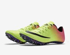 Nike Superfly Elite Unisex Track Shoes Spikes 835996 999 Volt Pink Men Size 12