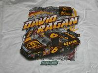 David Ragan #6 UPS Nascar Racing Size 2XL Shirt Chase Authentics  Rousch Fenway