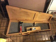 GUITAR CASE ONE OF A KIND, WOOD, HAND CRAFTED IN 1985 FITS STRATOCASTER  BODY GU