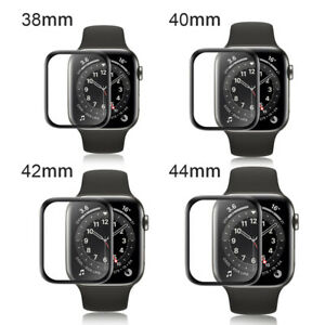 3D Schutzfolie für Apple Watch Series 38 40 42 44 Panzerfolie Full CURVED 1-6 SE