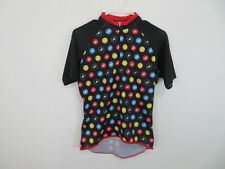 Castelli Cycling Jersey Team Biking Short Sleeve Racing Scorpion Print Kids L