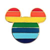 Rainbow Mickey Head Icon - Mickey Mouse Disney Pin 2008