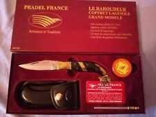 """Coffret couteau """"le baroudeur""""  Pradel"""