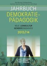 Jahrbuch Demokratiepädagogik 2013/14 (2013, Taschenbuch)