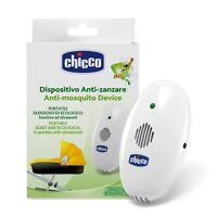 CHICCO Dispositivo Anti Zanzare ad Ultrasuoni Portatile con Luce Antibuio