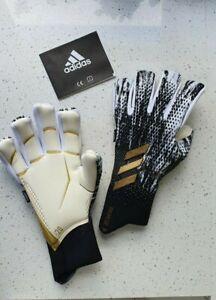 Adidas Predator20 Pro Fingersave goalkeeper gloves, negative cut