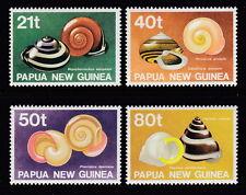 Papua New Guinea 1991 Snail Shells