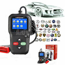 Automotive OBD2 EOBD Car Erase/Clear Fault Engine Code Reader Diagnostic Scanner