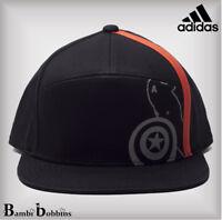 Adidas Marvel UPF 50+ Black Baseball Cap Boys 6-7-8-9-10-11-12-13-14-15-16 Years