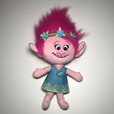 """Dreamworks Talking Poppy Trolls Plush 13"""" Excellent Used Condition"""