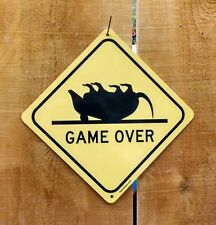 Game Over Crossing Xing Symbol Highway Route Sign