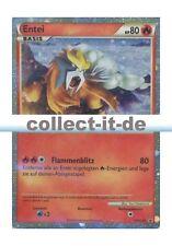 Pokemon Promokarten Entei - Shiny Deutsch