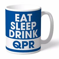 Personalised Queens Park Rangers Football Club FC Eat Sleep Drink Mug Gift QPR