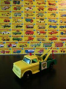 Matchbox #13 BP Wrecker Tow Truck NM