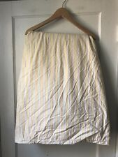 Pottery Barn Yellow Striped Duvet Cover Size King