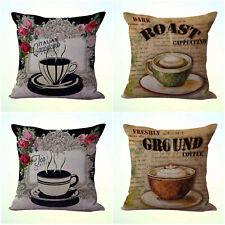US Seller- 4pcs cushion covers tea time bench bulk lot