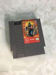 Ninja Gaiden (Nintendo Entertainment System NES, 1989) AUTHENTIC NICE!