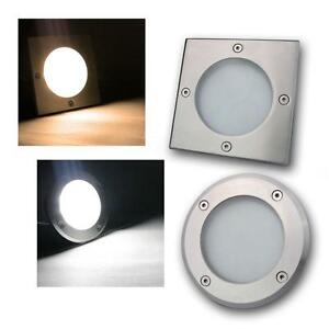 Recessed LED Stainless Steel Floor Roof Wall Decking Down Up Light IP65 Spots