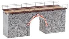 FALLER 120498 Pont en pierre DROIT 185 x 64 85 mm Neuf Emballage d'origine
