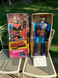 "1976 Shogun Warrior  Great Mazinga 24"" Tall Original Box Missing Pieces"