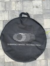 Shimano Single Wheel Bag - reinforced at axle contacts, zippered closure