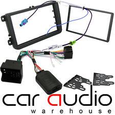 SKODA OCTAVIA II 2009 On Car Stereo Fascia Facia & Steering Wheel Interface Kit