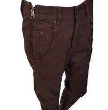 DIESEL Fayza-Q Brown Pants / Trousers Size W27 RRP £160.00