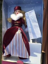 Vintage Victorian Ice Skater 2000 Barbie Doll Mint In Box #F714691 New
